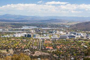 Aluguer de carros em Canberra, Austrália