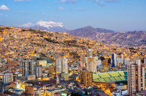 Aluguer de carros em La Paz, Bolívia