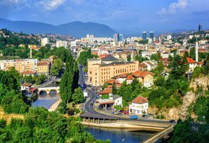 Aluguer de carros em Sarajevo, Bósnia