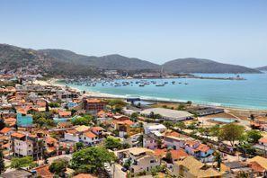 Aluguer de carros em Cabo Frio, Brasil
