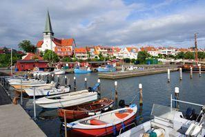 Aluguer de carros em Ronne, Dinamarca
