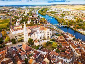 Aluguer de carros em Auxerre, França