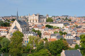 Aluguer de carros em Poitiers, França