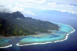 Aluguer de carros em Ilha Taiti, Polinésia Francesa