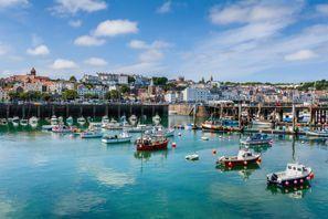 Aluguer de carros em Guernsey, Reino Unido