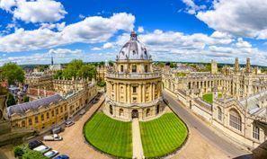 Aluguer de carros em Oxford, Reino Unido