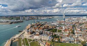 Aluguer de carros em Portsmouth, Reino Unido
