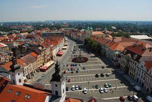 Aluguer de carros em Hradec Kralove, República Tcheca